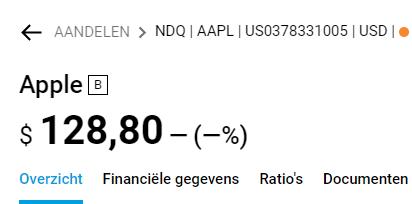 Apple aandeel kopen